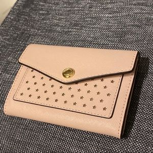 Michael Kors Star Coin Wallet Pink